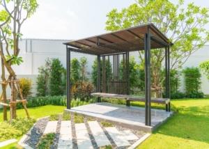 pabellon de jardin