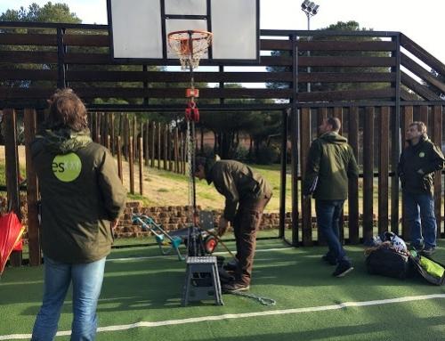 ¿Qué pavimento deportivo es el más indicado para centros educativos?